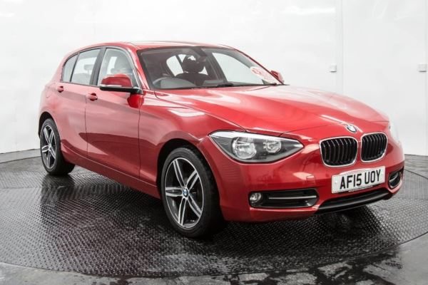 (2015) BMW 1 Series 1.6 116i Sport Sports Hatch (s/s) 5dr Rear Parking Aid