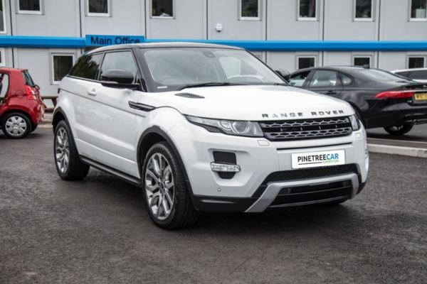(2011) Land Rover Range Rover Evoque 2.2 SD4 Dynamic 4X4 3dr Auto LEATHER - NAV - GLASS ROOF