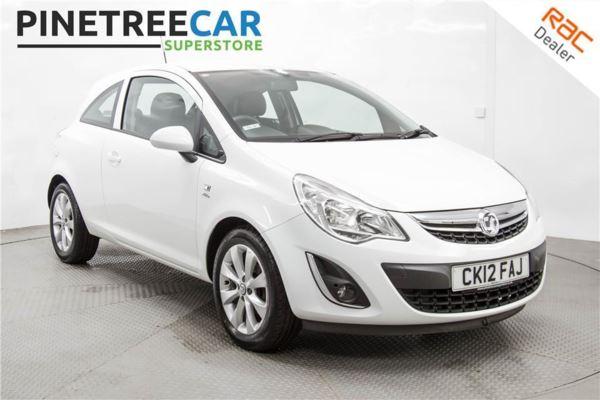 (2012) Vauxhall Corsa Active Ac