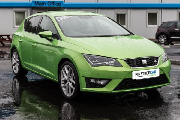(2013) SEAT Leon 2.0 TDI CR FR (Tech Pack) (s/s) 5dr 18'' ALLOYS - SAT NAV