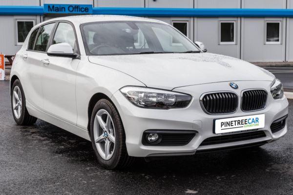 (2016) BMW 1 Series 1.5 116d EfficientDynamics Plus Sports Hatch (s/s) 5dr SAT NAV - LEATHER SEATS