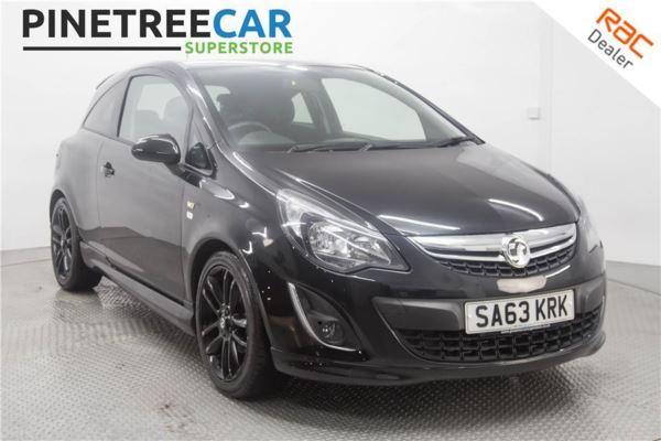 (2013) Vauxhall Corsa 1.3 CDTi ecoFLEX Limited Edition 3dr A/C 20 TAX 17'' BLACK ALLOYS