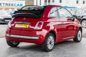 Fiat 500 1.2 Lounge 2dr [Start Stop]
