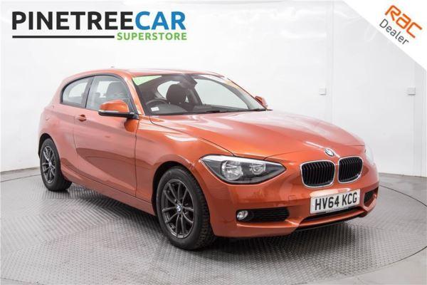 (2014) BMW 1 Series 116d EfficientDynamics 3dr SAT NAV BLUETOOTH DAB