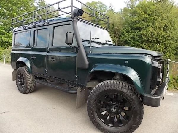 1997 (R) Land Rover 110 DEFENDER COUNTY SWTDI 9 Months Labour Of Love And £23000 In New Parts Aprox For Sale In Stroud, Gloucestershire