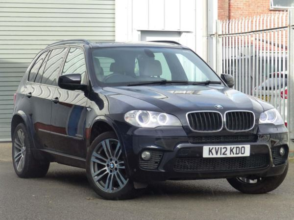 2012 (12) BMW X5 xDrive30d M Sport 5dr Auto Metallic Black For Sale In Stroud, Gloucestershire