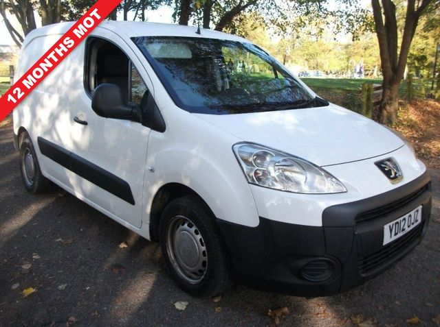 914f5a0711 2012 (12) Peugeot Partner 1.6 HDi S L1 850 4dr For Sale In Leicester ...