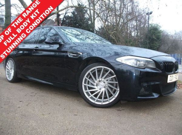 2011 (11) BMW 5 Series 2.0 520D M SPORT 4d 181 BHP For Sale In Leicester, Leicestershire