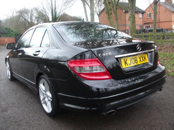 2008 (08) Mercedes-Benz C Class C320 CDI Sport 4dr Auto FINANCE AVAILABLE FREE WARRANTY INCLUDED For Sale In Leicester, Leicestershire