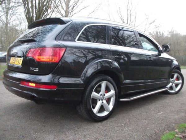 2007 (52) Audi Q7 3.0 TDI QUATTRO S LINE 5d AUTO 234 BHP 7 SEATER For Sale In Leicester, Leicestershire