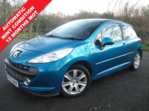 2007 (57) Peugeot 207 1.6 16v Sport 3dr AUTOMATIC AUTOMATIC 3 MONTHS WARRANTY For Sale In Leicester, Leicestershire