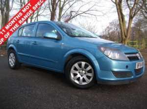 2004 54 Vauxhall Astra 1.6 CLUB 16V TWINPORT 5d 100 BHP 5 Doors Hatchback