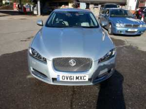2011 61 Jaguar XF 2.2d Luxury 4dr Auto 4 Doors SALOON