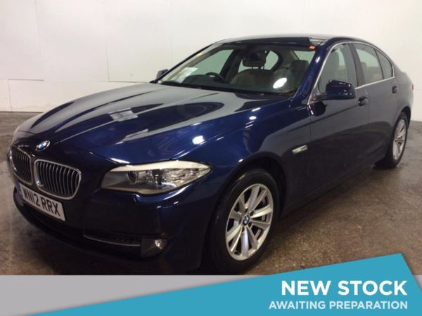 (2012) BMW 5 Series 520d BluePerformance EffDynamics 4dr [Prof Media] £2980 Of Extras - Satellite Navigation - Luxurious Leather - Bluetooth Connectivity