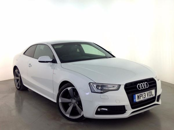 (2013) Audi A5 2.0 TDI 177 Black Edition 2dr £715 Of Extras - Luxurious Leather - Bluetooth Connection - £30 Tax