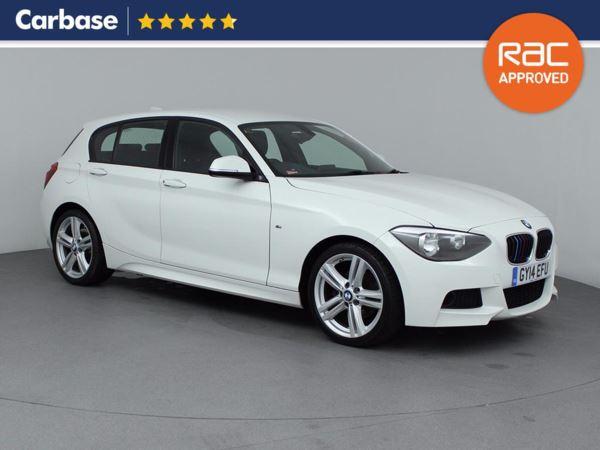 (2014) BMW 1 Series 120d M Sport 5dr Bluetooth Connection - £30 Tax - Alcantara - DAB Radio - Aux MP3 Input