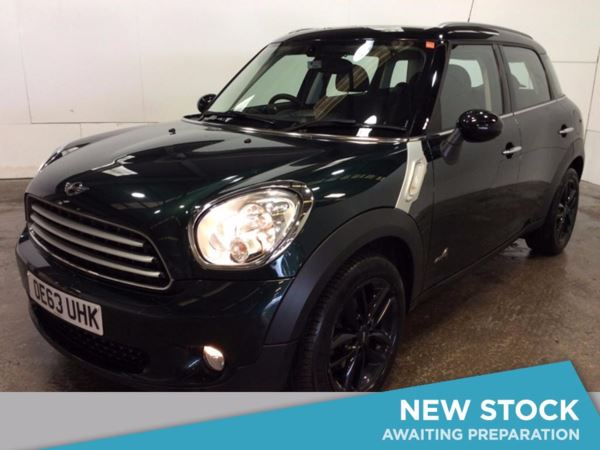 (2014) MINI Countryman 1.6 Cooper D ALL4 5dr - SUV 5 SEATS £3075 Of Extras - Bluetooth Connection - Parking Sensors - DAB Radio