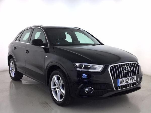 (2013) Audi Q3 2.0 TDI S Line 5dr - SUV 5 SEATS £1410 Of Extras - Satellite Navigation - Bluetooth Connection - Parking Sensors