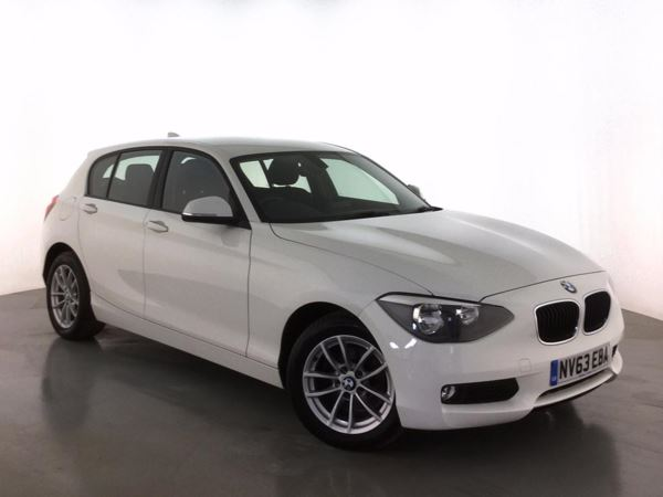 (2014) BMW 1 Series 118d SE 5dr Bluetooth Connection - £20 Tax - DAB Radio - Aux MP3 Input - USB Connection