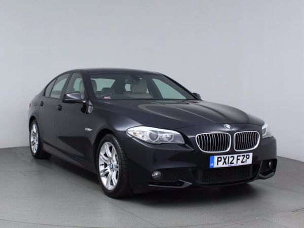 (2012) BMW 5 Series 520d M Sport Luxurious Leather - Bluetooth Connection - Parking Sensors - Aux MP3 Input