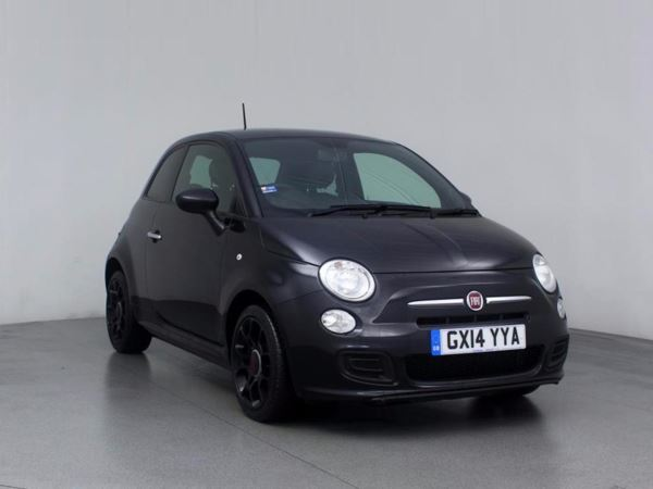 (2014) Fiat 500 1.2 S 3dr Bluetooth Connection - £30 Tax - Aux MP3 Input - USB Connection - Air Conditioning