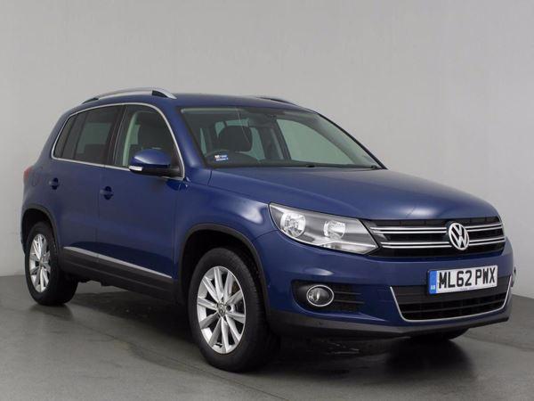 (2012) Volkswagen Tiguan 2.0 TDi BlueMotion Tech SE 5dr [2WD] - SUV 5 SEATS Bluetooth Connection - Parking Sensors - DAB Radio - Rain Sensor - 6 Speed