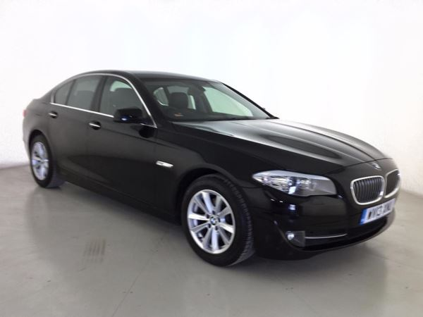 (2013) BMW 5 Series 520d SE 4dr Step Auto [Start Stop] £6540 Of Extras - Satellite Navigation - Luxurious Leather - Bluetooth Connection