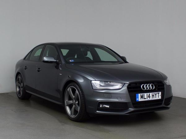 (2014) Audi A4 2.0 TDI 177 Black Edition 4dr Multitronic With Paddle Shift £2235 Of Extras - Satellite Navigation - Bluetooth Connection - Parking Sensors