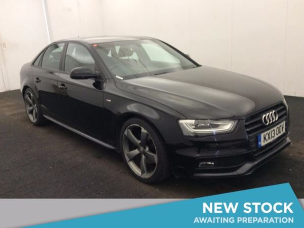 (2013) Audi A4 2.0 TDI 177 Black Edition 4dr Multitronic With Paddle Shift £2895 Of Extras - Satellite Navigation - Bluetooth Connection - Parking Sensors