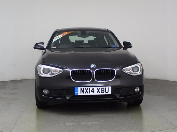 (2014) BMW 1 Series 116d EfficientDynamics Business 5dr £2320 Of Extras - Satellite Navigation - Luxurious Leather - Bluetooth Connectivity