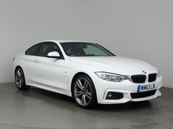 (2013) BMW 4 Series 420d M Sport 2dr Auto Coupe Satellite Navigation - Luxurious Leather - Bluetooth Connection - Parking Sensors