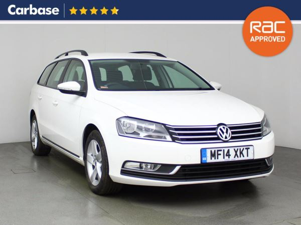(2014) Volkswagen Passat 1.6 TDI Bluemotion Tech S 5dr Estate Bluetooth Connection - £30 Tax - DAB Radio - 6 Speed - 1 Owner - Alloys