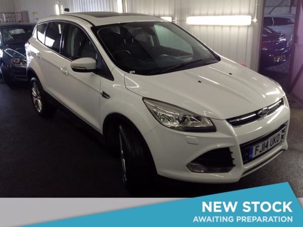 (2014) Ford Kuga 2.0 TDCi Titanium X 5dr 2WD - SUV 5 SEATS Panoramic Roof - Luxurious Leather - Bluetooth Connection - DAB Radio - Aux