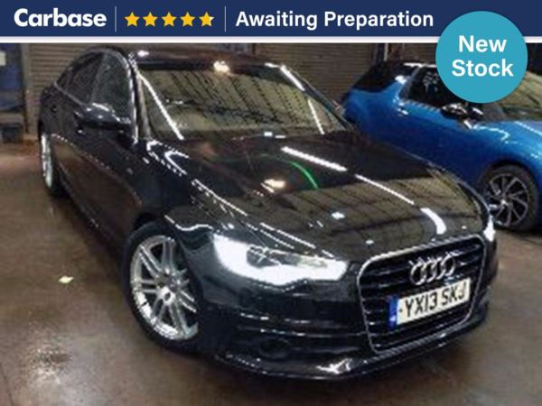 (2013) Audi A6 2.0 TDI S Line 4dr Multitronic Auto £5480 Of Extras - Satellite Navigation - Luxurious Leather - Bluetooth Connection