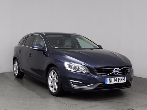(2014) Volvo V60 D4 [181] SE Lux 5dr Geartronic Bluetooth Connection - £20 Tax - Parking Sensors - DAB Radio - Aux MP3 Input