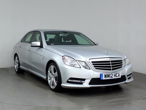 (2012) Mercedes-Benz E Class E220 CDI BlueEFFICIENCY Executive SE 4dr Tip Auto £4130 Of Extras - Satellite Navigation - Bluetooth Connection - Parking Sensors