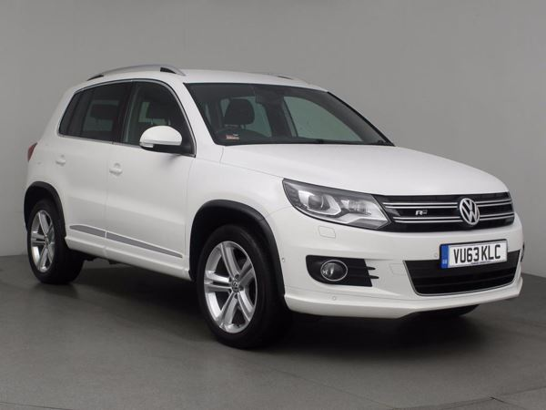 (2013) Volkswagen Tiguan 2.0 TDi BlueMotion Tech R Line 177 5dr DSG - SUV 5 SEATS £825 Of Extras - Satellite Navigation - Bluetooth Connection - Parking Sensors