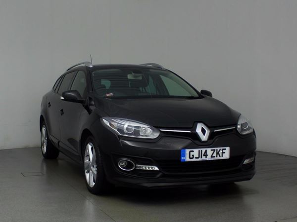 (2014) Renault Megane 1.5 dCi Dynamique TomTom Energy 5dr Estate Satellite Navigation - Bluetooth Connection - Zero Tax - Aux MP3 Input