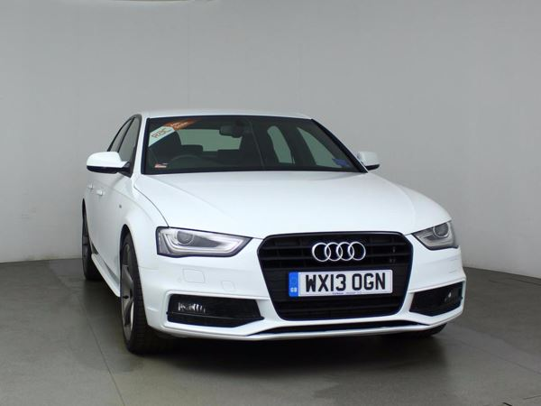 (2013) Audi A4 2.0 TDI 177 Black Edition 4dr £615 Of Extras - Luxurious Leather - Bluetooth Connection - £30 Tax