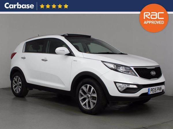 (2015) Kia Sportage 2.0 CRDi KX-2 5dr - SUV 5 Seats Panoramic Roof - Bluetooth Connection - USB Connection - Rain Sensor