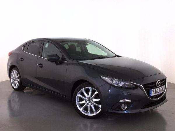 (2014) Mazda 3 2.2d Sport Nav 4dr Satellite Navigation - Bluetooth Connection - £20 Tax - Aux MP3 Input