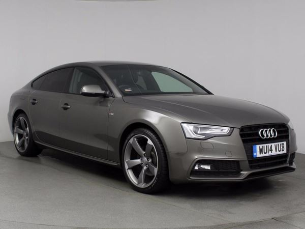 (2014) Audi A5 2.0 TDI 177 Black Edition 5dr [5 Seat] Sportback £4890 Of Extras - Satellite Navigation - Luxurious Leather - Bluetooth Connection