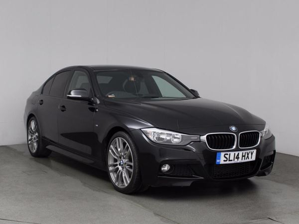 (2014) BMW 3 Series 320d M Sport 4dr £3220 Of Extras - Satellite Navigation - Luxurious Leather - Bluetooth Connectivity