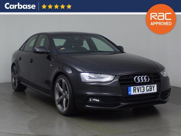 (2013) Audi A4 2.0 TDI 177 Black Edition 4dr Multitronic £615 Of Extras - Luxurious Leather - Bluetooth Connection - Parking Sensors