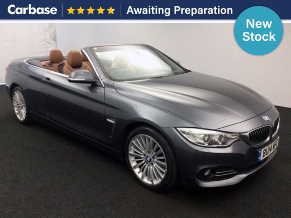 (2014) BMW 4 Series 420d Luxury 2dr Auto Convertible £6090 Of Extras - Satellite Navigation - Luxurious Leather - Bluetooth Connection