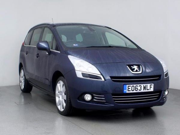 (2013) Peugeot 5008 1.6 HDi Allure 5dr - MPV 7 SEATS Panoramic Roof - Bluetooth Connection - Parking Sensors - Aux MP3 Input