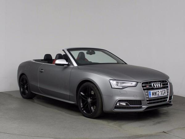 (2012) Audi A5 S5 Quattro 2dr S Tronic £6395 Of Extras - Satellite Navigation - Luxurious Leather - Bluetooth Connection