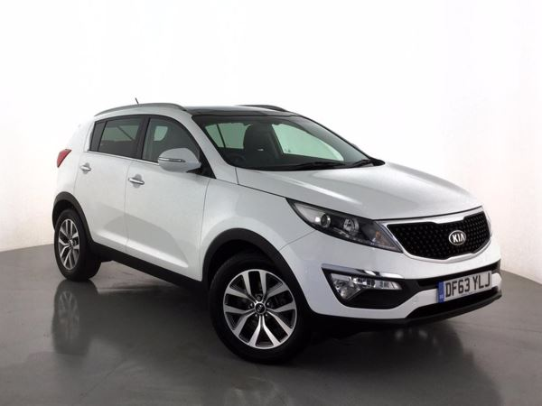 (2014) Kia Sportage 1.7 CRDi ISG 2 5dr - SUV 5 SEATS Panoramic Roof - Luxurious Leather - Bluetooth Connection - USB Connection