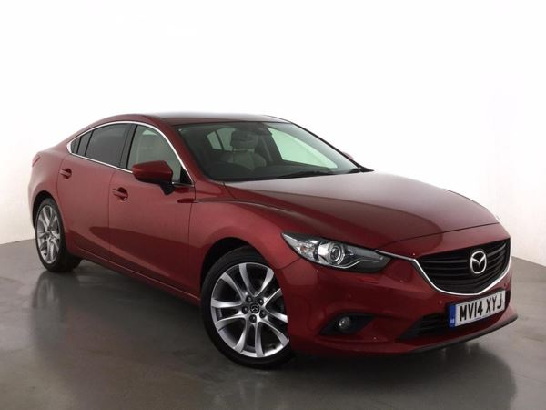 (2014) Mazda 6 2.2d [175] Sport Nav 4dr Satellite Navigation - Luxurious Leather - Bluetooth Connection - £30 Tax