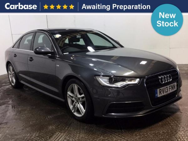 (2013) Audi A6 2.0 TDI S Line 4dr Multitronic £2560 Of Extras - Satellite Navigation - Luxurious Leather - Bluetooth Connectivity